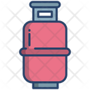 Gas Cylinder Natural Gas Fuel Icon