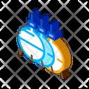 Three Round Gas Icon