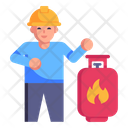 Gas Engineer Icon