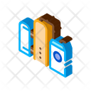 Gas Supply Station Icon