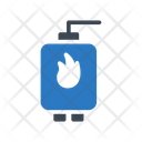 Gas Heater Plumbing Icon