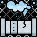 Gas Leak Icon