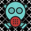 Gas Mask Toxic Icon