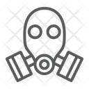 Gas Mask Defense Icon