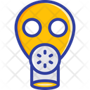 Gas Mask Respirator Toxic Icon