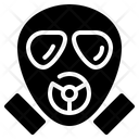 Gas Mask Protection Icon