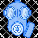 Gas Mask Military Icon