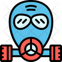 Gas Mask Respirator Gas Icon