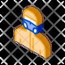Human Mask Protective Icon