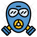 Gas Mask Chemical Mask Respiratory Mask Icon