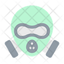 Gas Mask Nuclear Science Icon