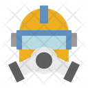 Gas Mask Chemical Gas Mask War Icon