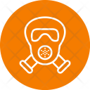 Gas Mask Cannibal Icon