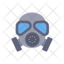 Gas Mask Chemical Weapon Biological Hazard Icon
