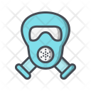 Carnival Gas Mask Icon