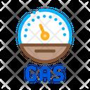 Engine Gas Indicator Icon
