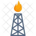 Gas Petrochemical Icon