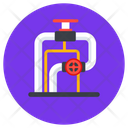 Gas Pipeline Pipeline Gas Station Icon