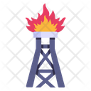 Natural Gas Gas Plant Industrial Gas Icon