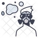 Gas Protection Mask Icon
