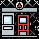 Gas Pump Fuel Station Petrol Pump Icon