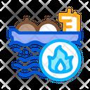 Gas Outlets Sea Icon
