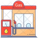 Filling Station Gas Station Service Station Icon