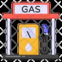 Oil Pump Petrol Pump Gas Station Icon