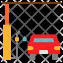 Gas Station Car Icon