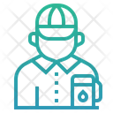 Gas station attendant Icon