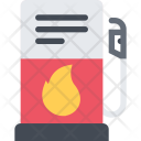 Gas Station Delivery Icon