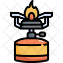 Gas Stove Camping Icon