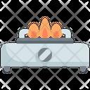 Gas Stove Fire Icon