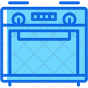 Gas Cooking Stove Icon