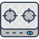Cooking Range Range Burner Gas Range Icon