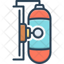Gas Tank Energy Fire Icon