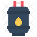 Gas Tank Cylinder Fuel Tank Icon