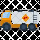 Fuel Truck Gasoline Icon