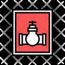 Gas Transportation Color Icon