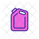 Petrochemical Gasoline Canister Icon
