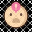 Gasp Emoji Amazed Icon