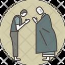 Gassho monk Icon