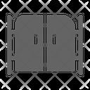 Gate Door Entrance Icon