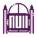Gate Entry Exit Icon