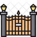 Gate Entry Gate Front Gate Icon