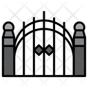 Gate Graveyard Halloween Icon