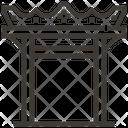 Gate Architecture Asian Icon