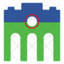 Gate Building House Icon