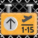 Gate Pass Icon