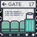 Gate Terminal Icon